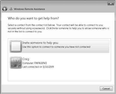 Remote Assistance Windows